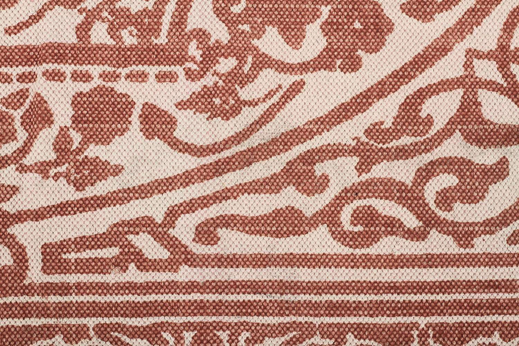 Zulu Totemic Faction Rust Rug