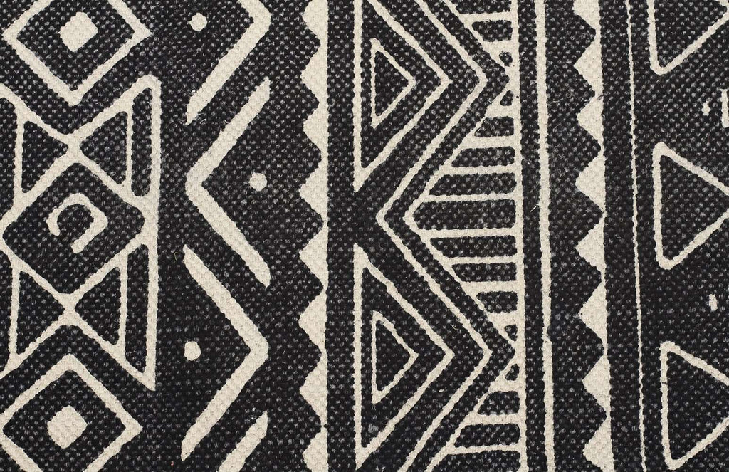Zulu Totemic Throng Black Rug