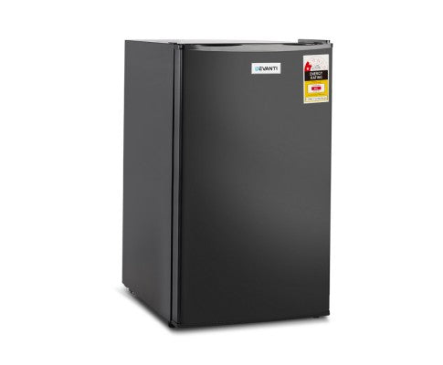 Devanti 95L Portable Mini Bar Fridge - Black