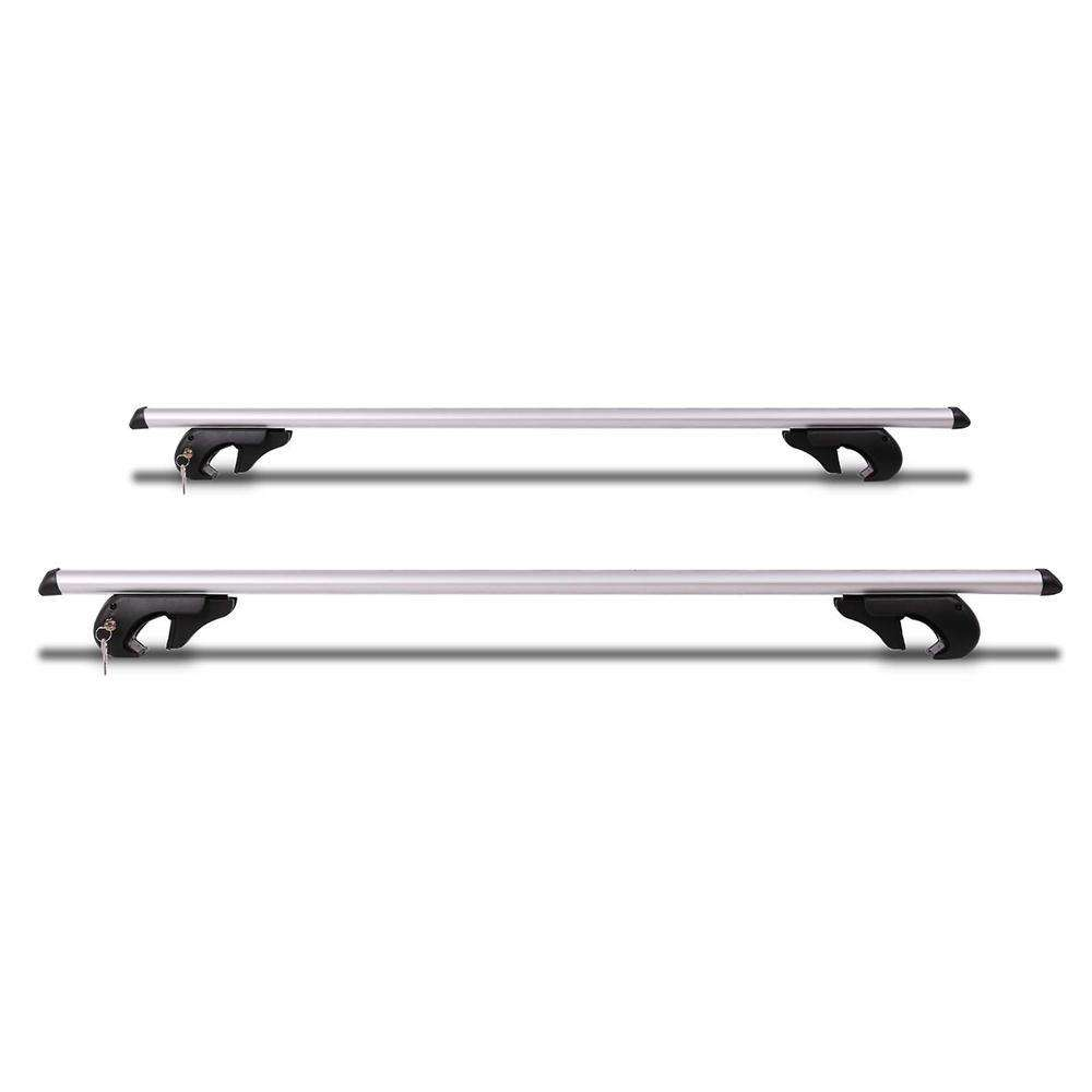 Universal Roof Racks Cross Bars 120cm Lockable - Desirable Home Living