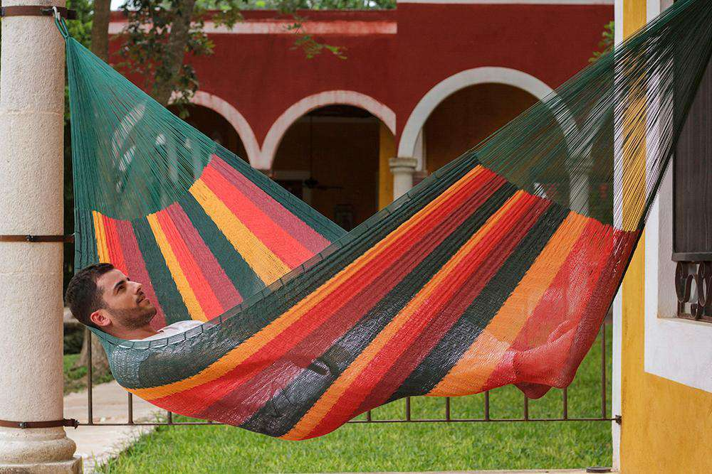 Jumbo Size Cotton Hammock in Imperial