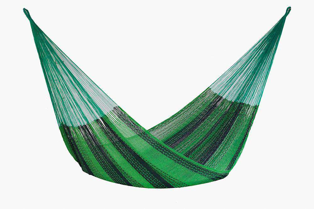 Queen Size Cotton Hammock in Jardin