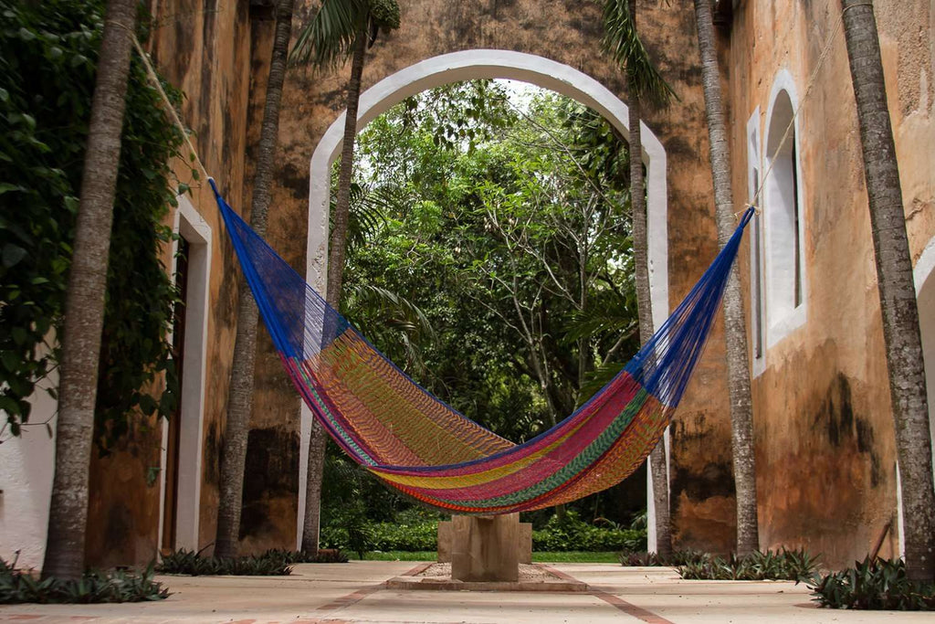 King Size Cotton Hammock in Mexicana
