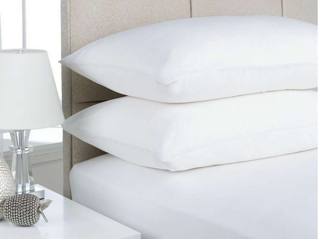 King Single size Egyptian Cotton flannelette Sheet Set (White)