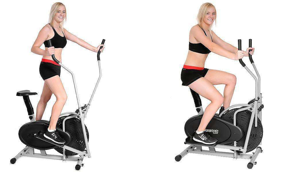 3-IN-1 ELLIPTICAL CROSS TRAINER AND EXERCISE BIKE