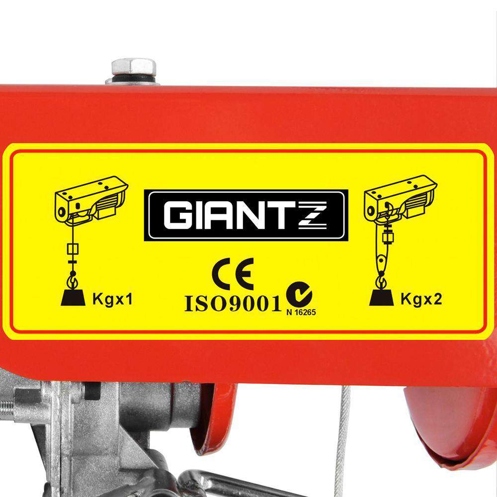 125/250kg 510 W Electric Hoist Winch - Desirable Home Living