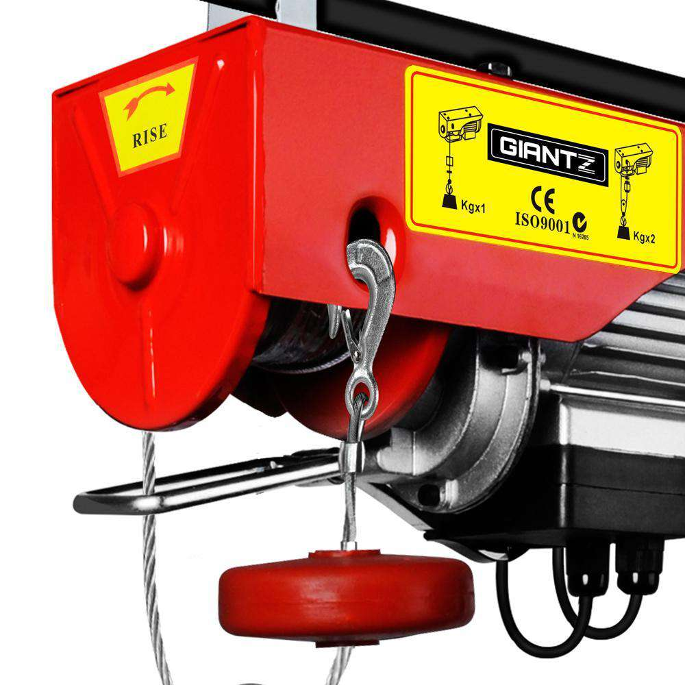 300/600kg 1200 W Electric Hoist Winch - Desirable Home Living