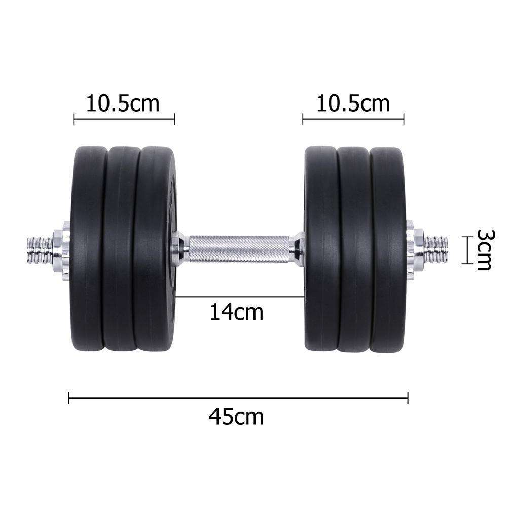 Everfit Fitness Gym Exercise Dumbbell Set 35kg