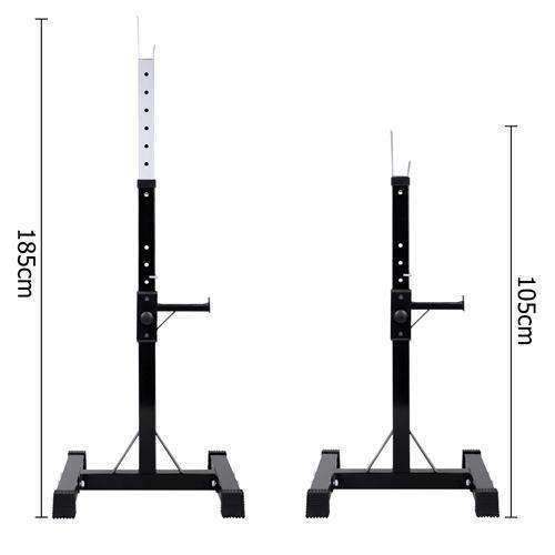 Squat Rack Bench Press Weight Lifting Stand Fitness - Desirable Home Living