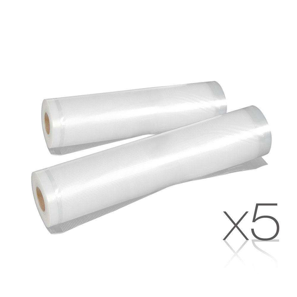 Set of 10 5m Food Sealer Rolls
