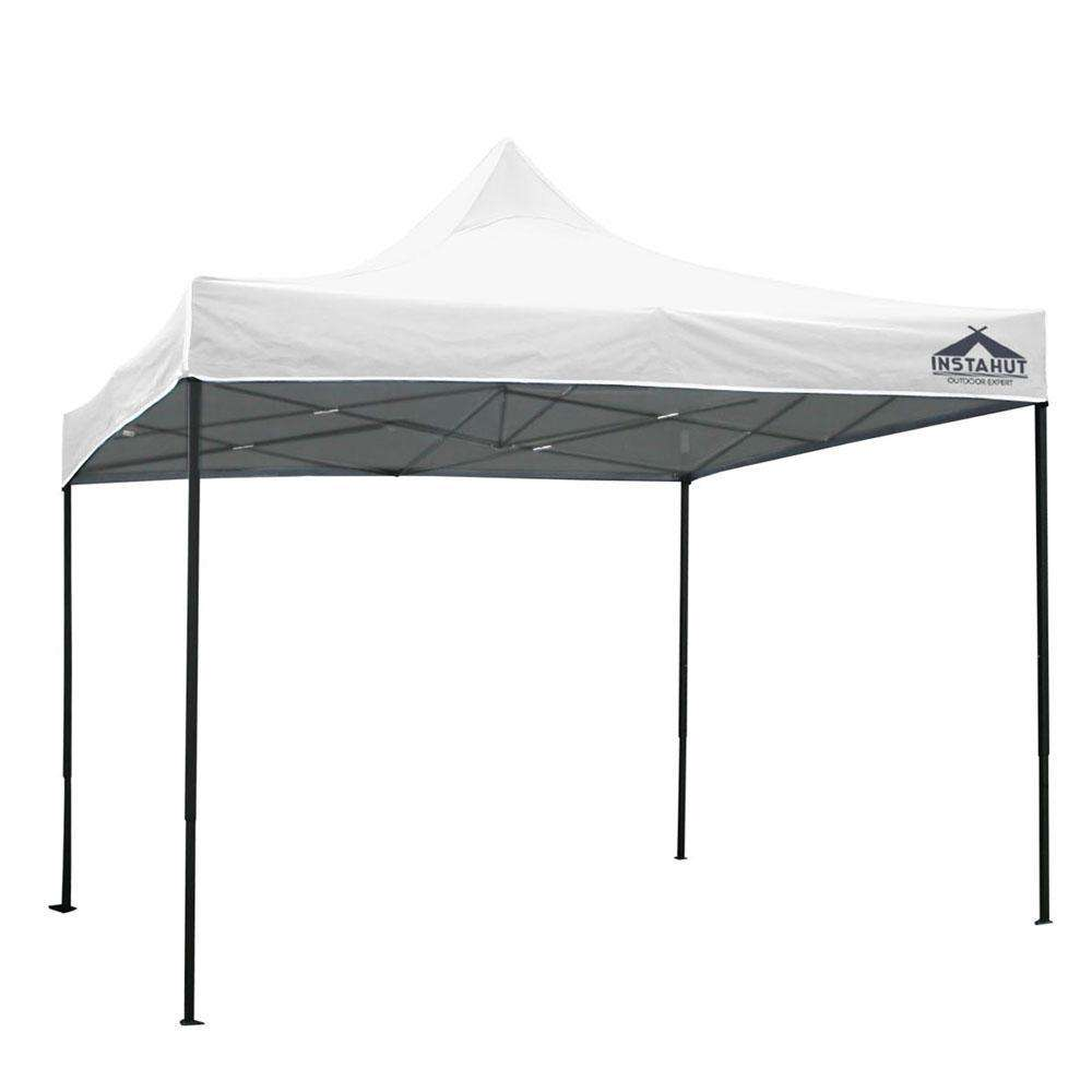 3m x 3m Pop-up Garden Outdoor Gazebo White