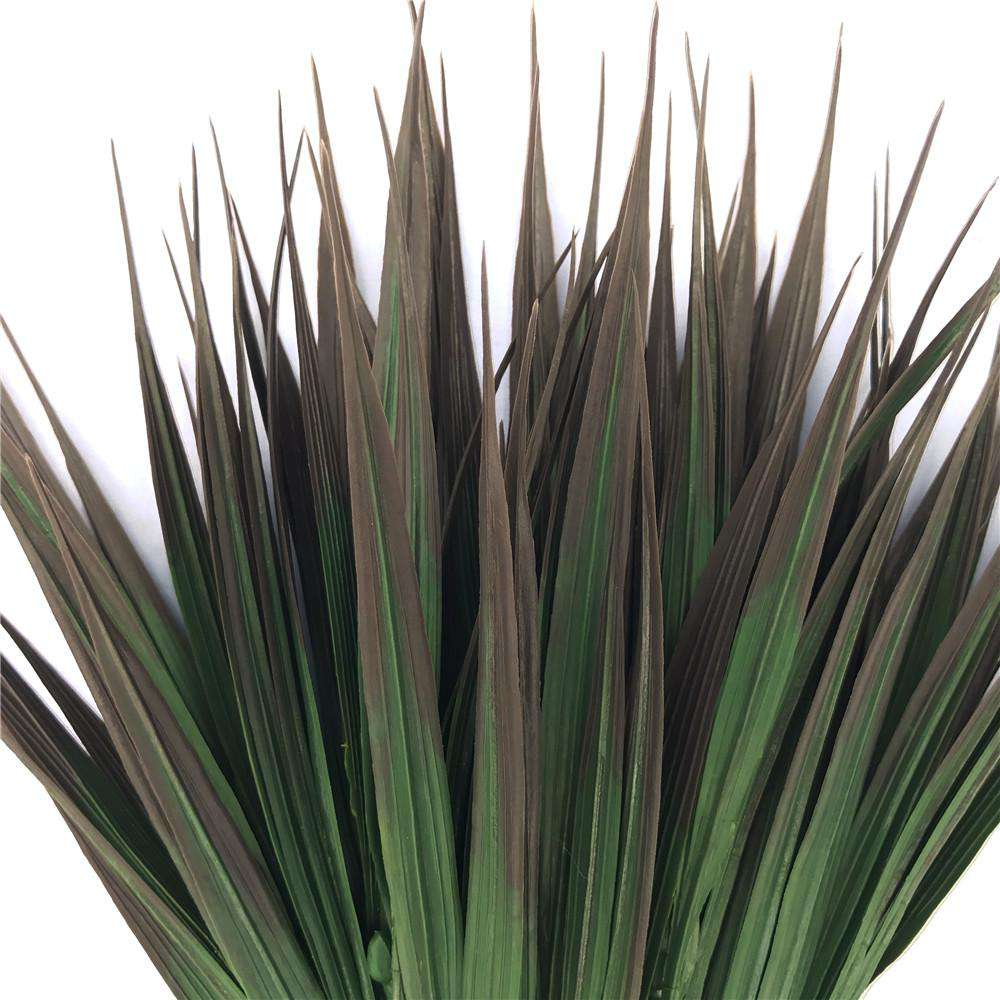 Artificial Brown Tipped Grass Plant 35cm