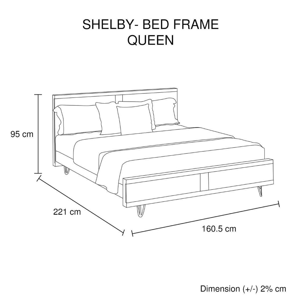 Shelby Queen Bed
