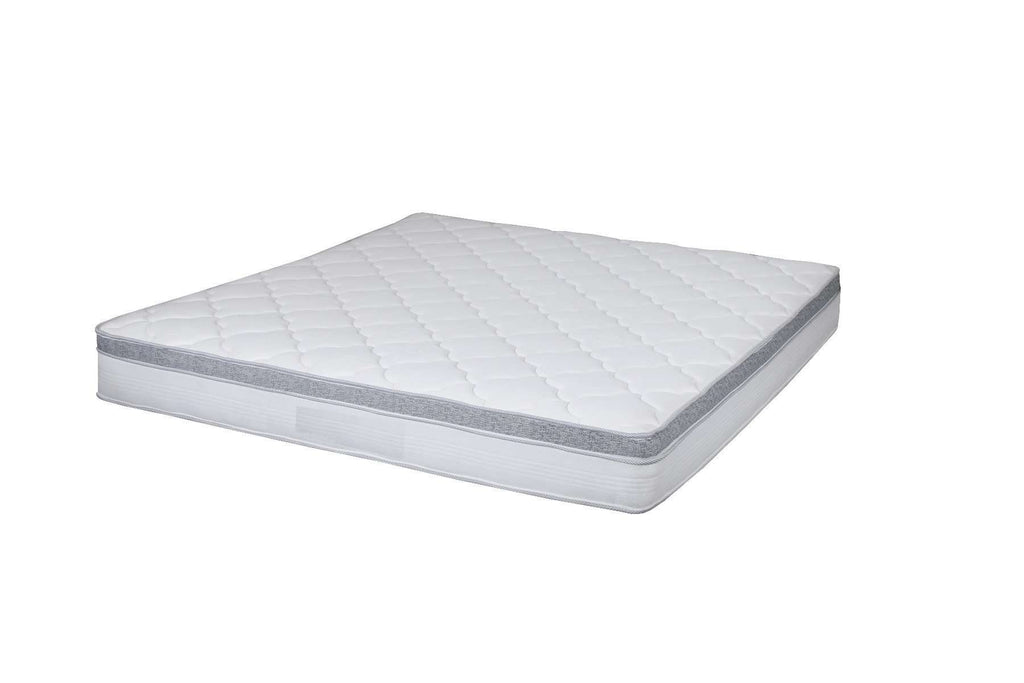 Latex Foam Euro Top Spring Mattress KB - Desirable Home Living