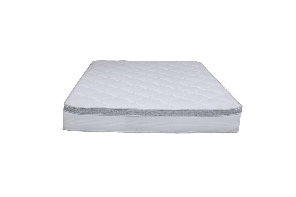 Latex Foam Euro Top Spring Mattress QB - Desirable Home Living