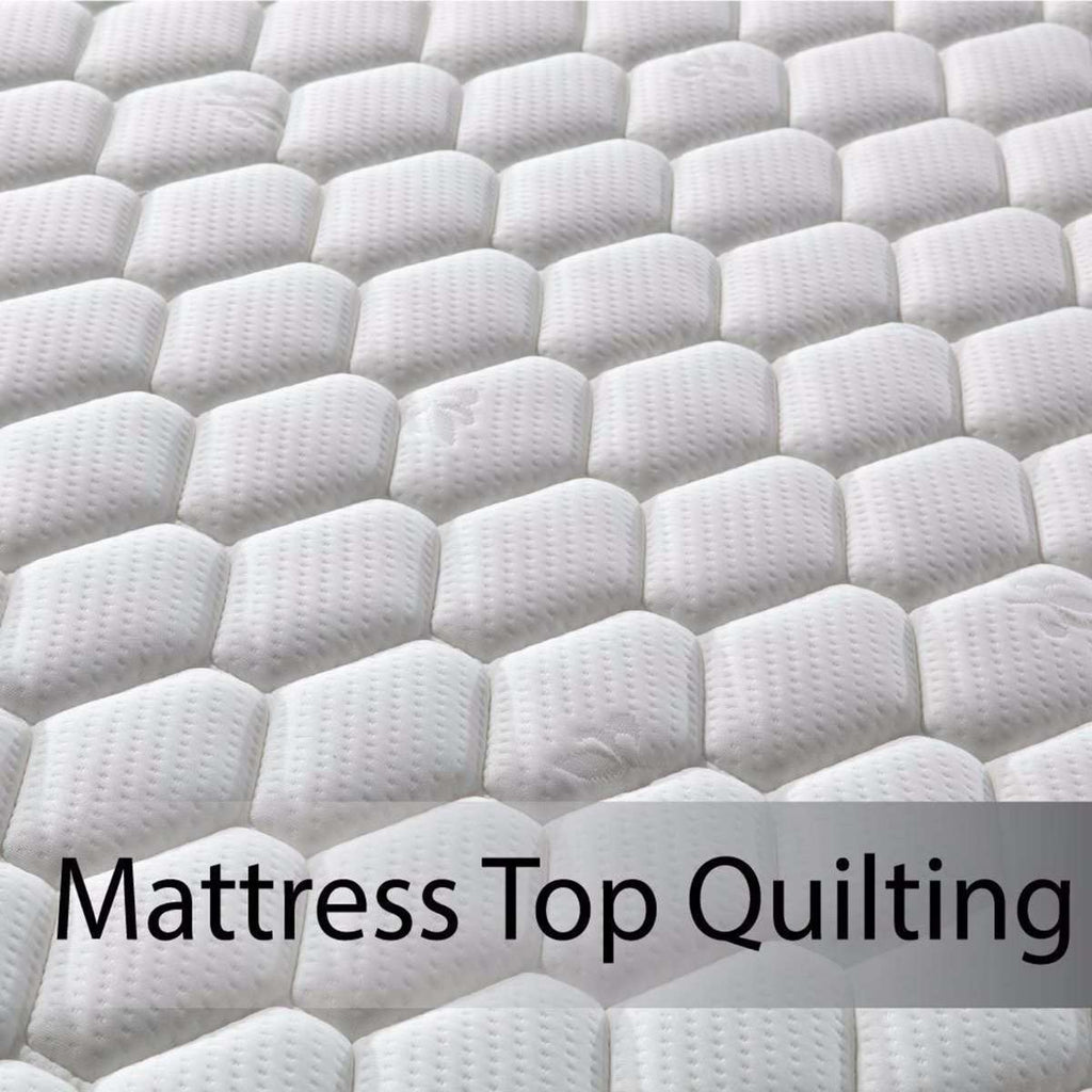 Latex Pillowtop Mattress  King Single - Desirable Home Living