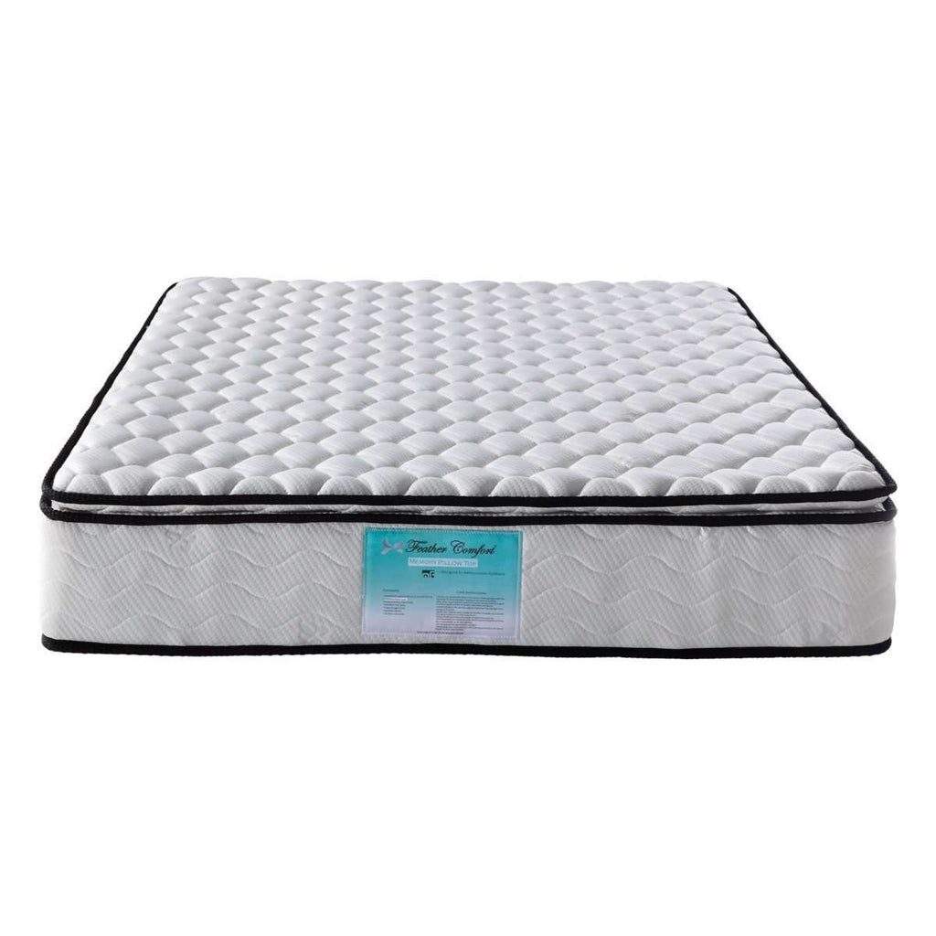 Memory Pillowtop Mattress Queen - Desirable Home Living