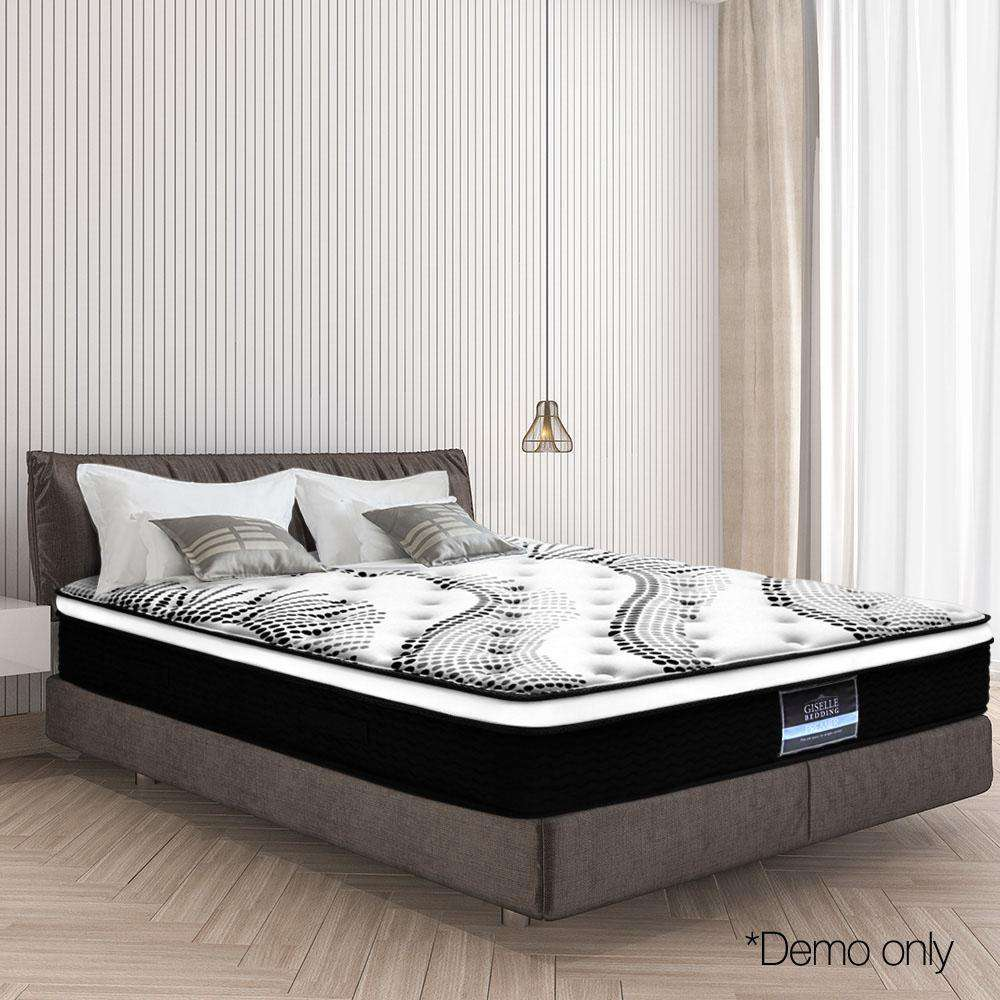 Giselle Bedding Queen Size Euro Spring Foam Mattress
