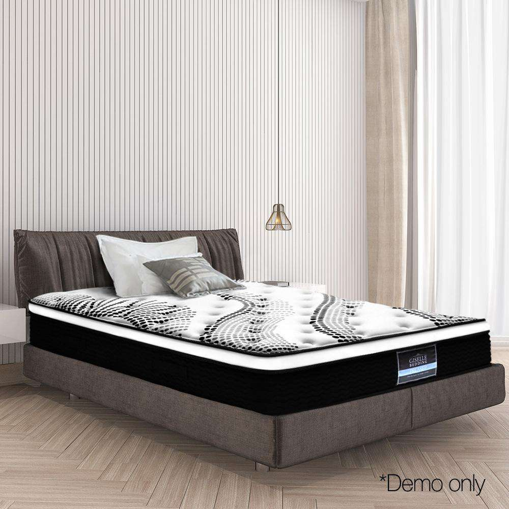 Giselle Bedding Single Size Euro Spring Foam Mattress