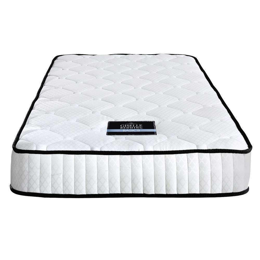 High Density Foam Pocket Spring Mattress 21cm King Single - Desirable Home Living