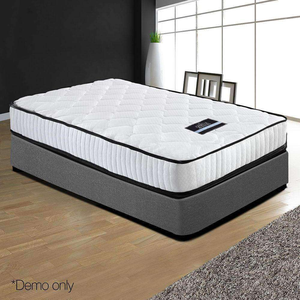High Density Foam Pocket Spring Mattress 21cm Single - Desirable Home Living