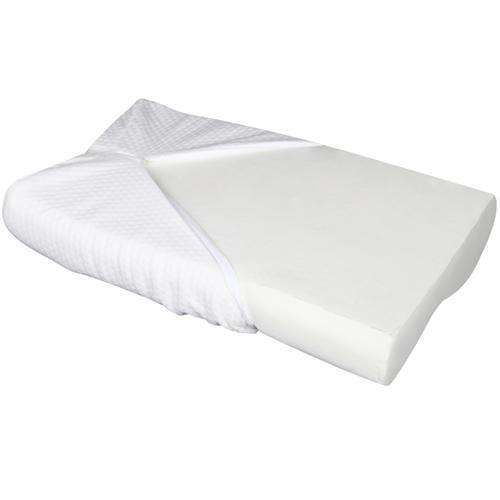 Set of 2 Cool Gel Top Memory Foam Pillow - Desirable Home Living