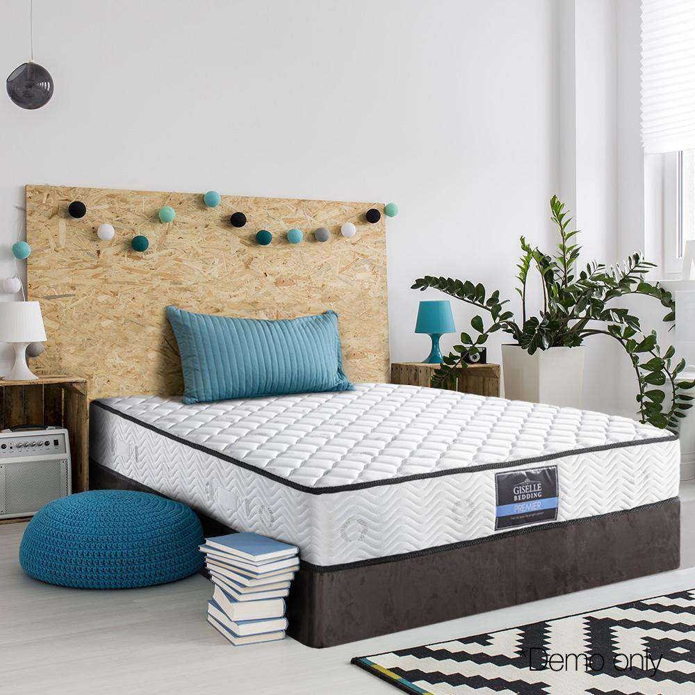 Pocket Spring High Density Foam Mattress Single - Desirable Home Living