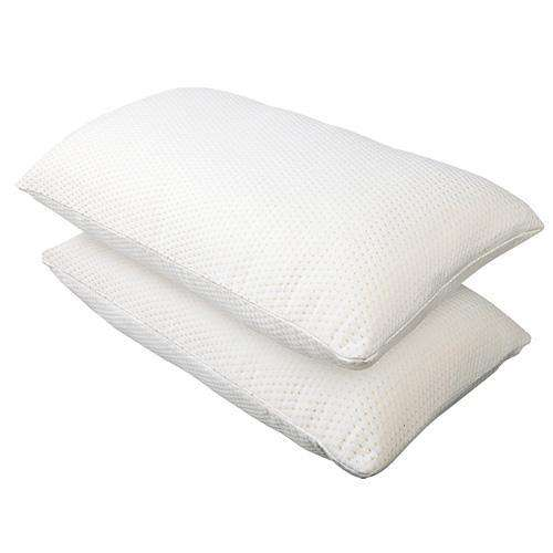 Set of 2 Memory Foam Pillows