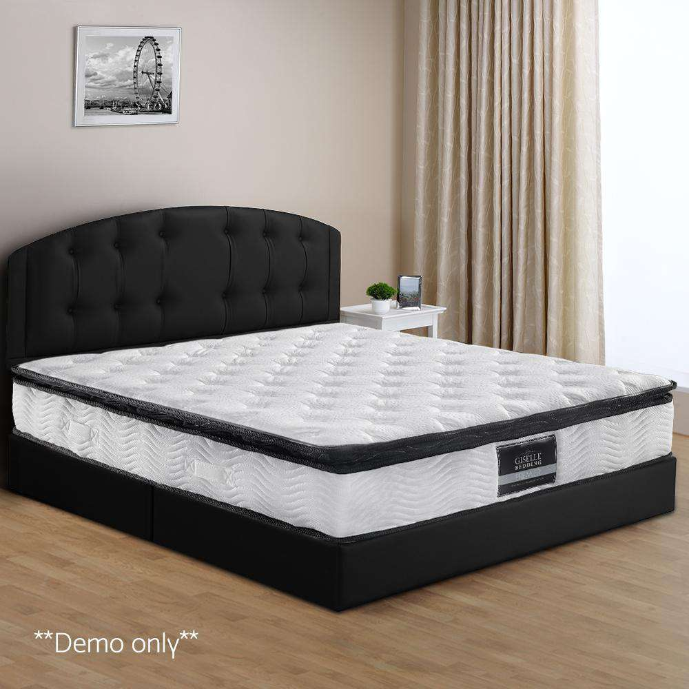 Pillow Top Pocket Spring Mattress King - Desirable Home Living