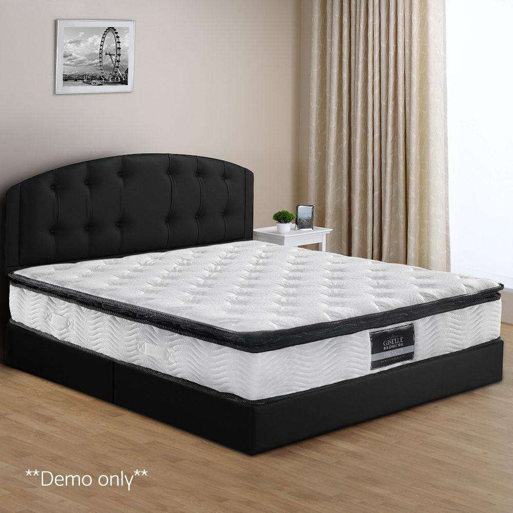 Pillow Top Pocket Spring Mattress King Single - Desirable Home Living