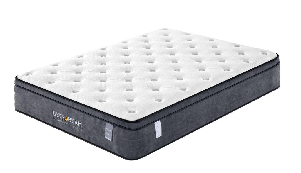 Eurotop Mattress 5 Zone Pocket Spring Latex Foam 34cm - King