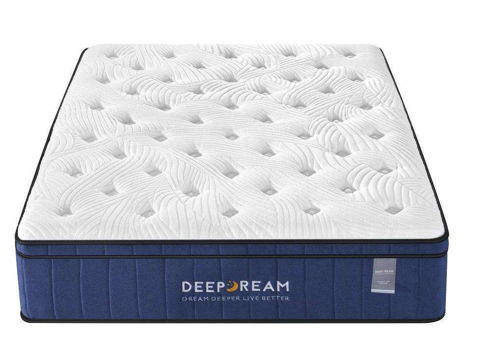 Cool Gel Memory Foam Mattress 5 Zone Latex 34cm - King