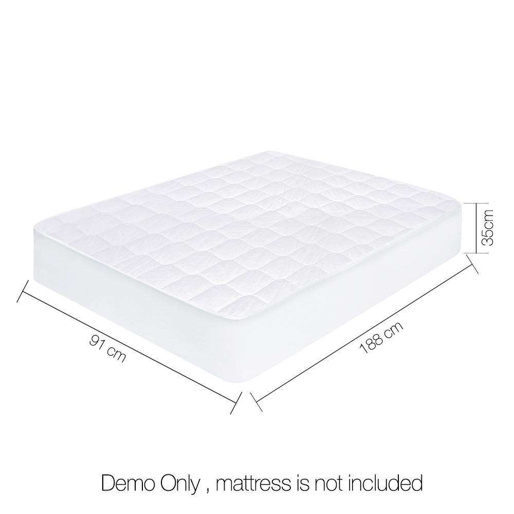 Giselle Bedding Single Size Cotton Mattress Protector