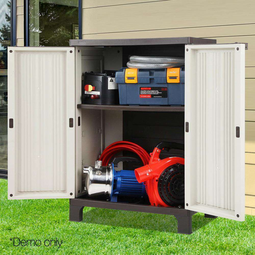 Outdoor Half-sized Storage Cabinet - Desirable Home Living
