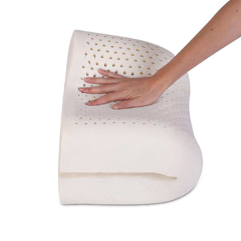 Set of 2 Contour Latex Pillow - Desirable Home Living
