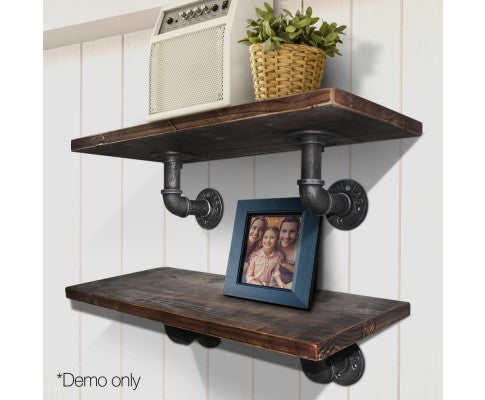 Artiss 6inch 9 Piece Wall Mounted Shelf Set