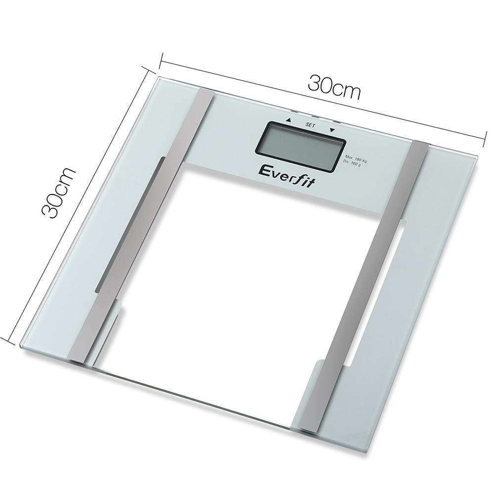 Everfit Electronic Digital Body Fat Scale - White