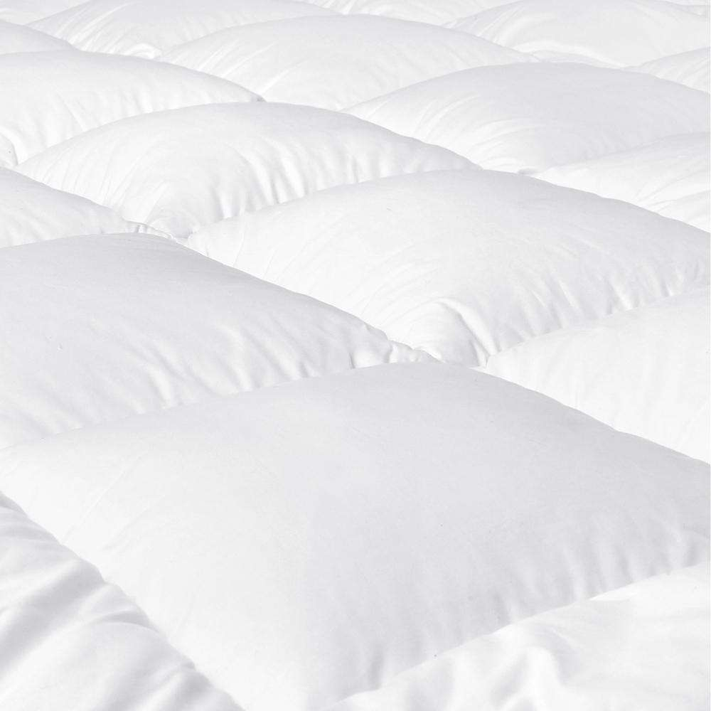 Pillowtop Mattress Topper Memory Resistant Protector Pad Cover Queen - Desirable Home Living