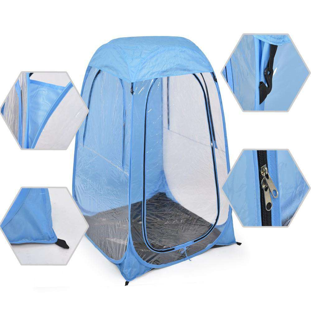 Pop Up Sports Tent - Blue