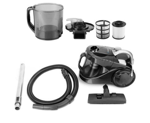 Bagless Cyclone Cyclonic Vacuum Cleaner - Black