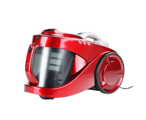 Devanti Bagless Cyclone Cyclonic Vacuum Cleaner - Red