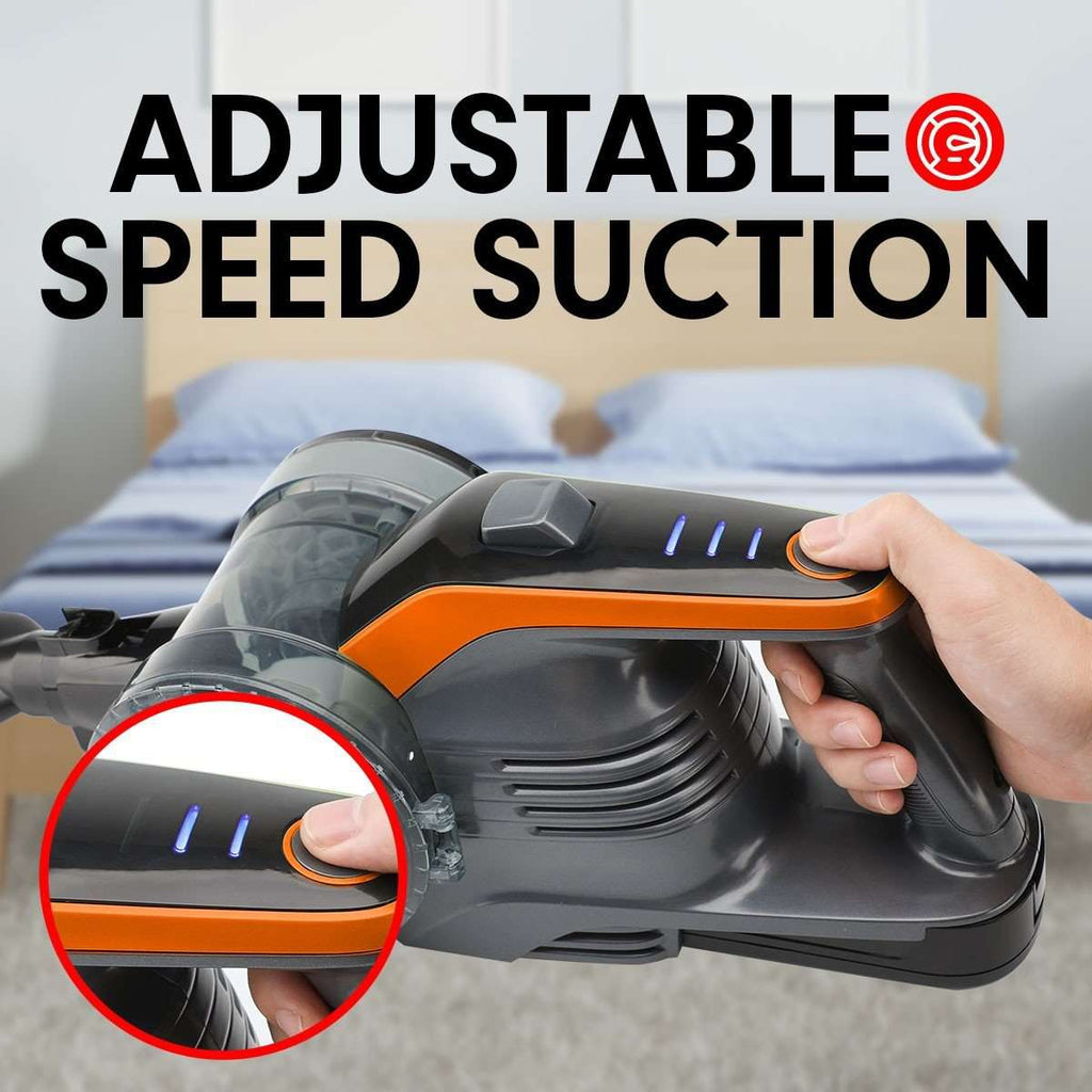 150W Handheld Vacuum Stick Cleaner Hand Battery Cordless - ORANGE