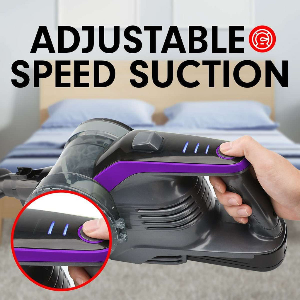 150W Handheld Vacuum Stick Cleaner Hand Battery Cordless - PURPLE