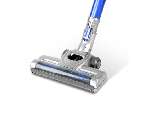 Devanti Cordless Stick Vacuum Cleaner - Blue & Grey