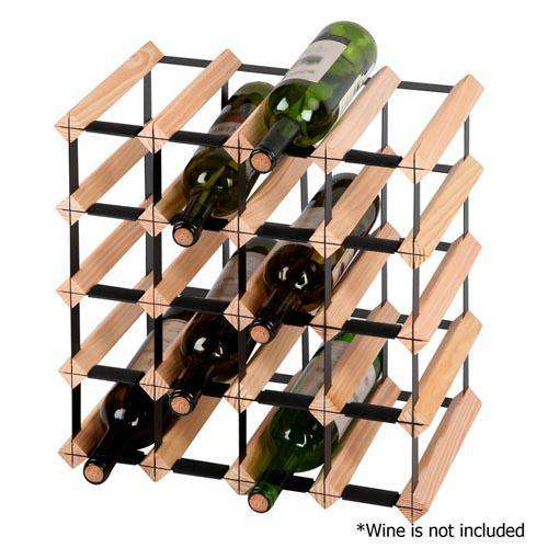 Timber Wine Rack 20 Bottles - Desirable Home Living