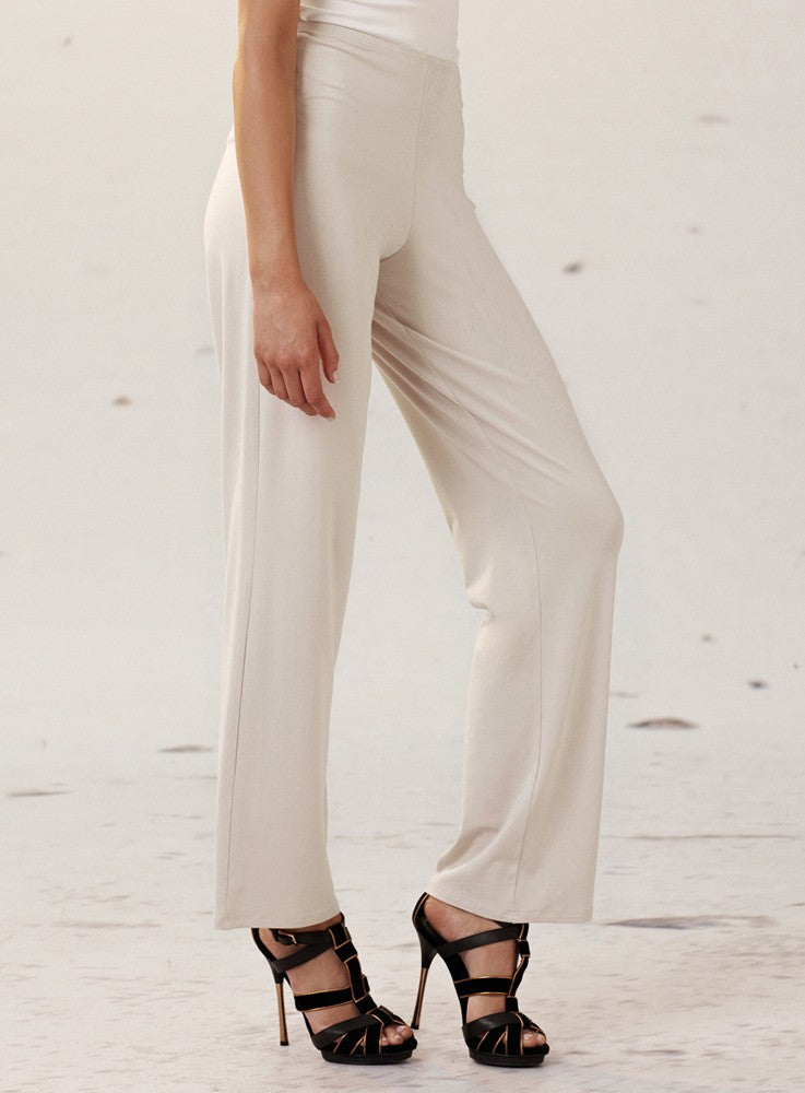 Sand Long Straight Leg Mela Purdie Pant Style and Grace