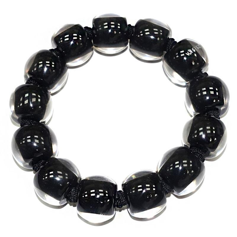 40103109010Q13 Colourful Beads Black 9010 M