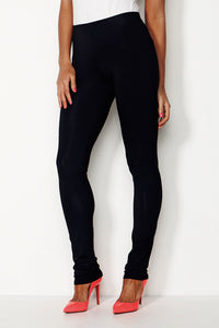 Black Long Slim Mela Purdie Leg Pant Style and Grace