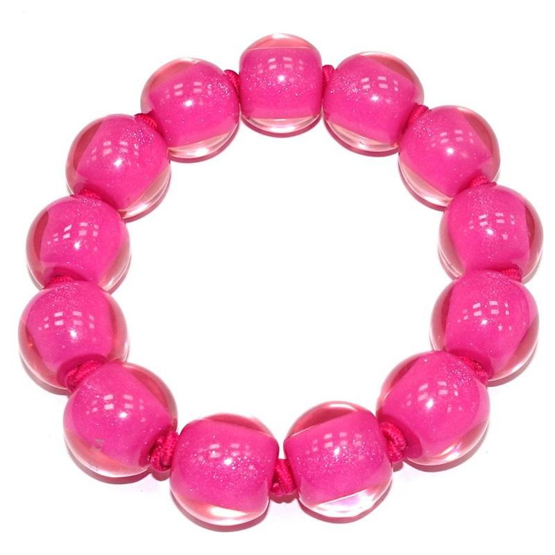40103109017Q13 Colourful Beads Pink 9017 M