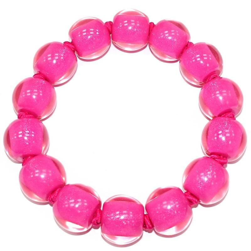 40103109017Q14 Colourful Beads Pink 9017 L